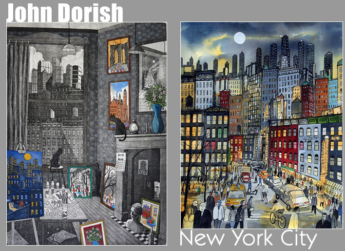 John Dorish - New York City Artist